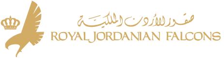 Royal Jordanian Falcons Logo